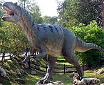 Allozaura w Parku Jurajskim