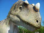 ceratozaur - głowa dinozaura