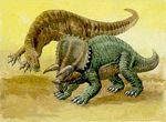 walczący pentaceratops