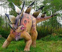 Stegozaur w Parku Jurajskim